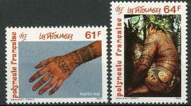 Polynesie, michel 613/14, xx