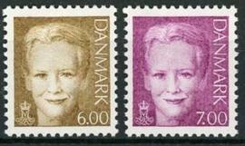 Denemarken, michel 1279/80, xx