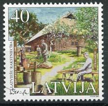 Letland, michel 589, xx