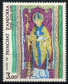 Andorra Fr., michel 318, xx