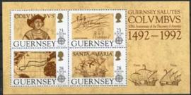 Guernsey, michel blok 8, xx
