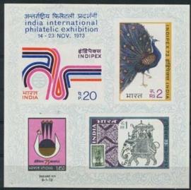 India , michel blok 1 , xx