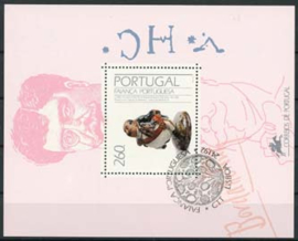 Portugal, michel blok 82, o