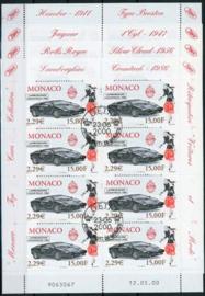 Monaco, michel kb 2510/13, o
