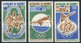 Dahomey, michel 484/86, xx