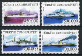 Turkije, michel 3323/26, xx
