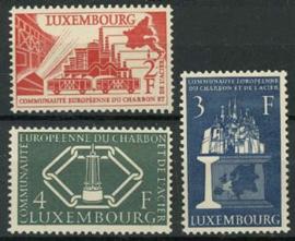 Luxemburg, michel 552/54, xx