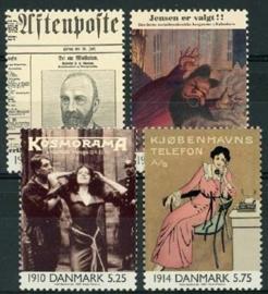 Denemarken, michel 1234/37, xx