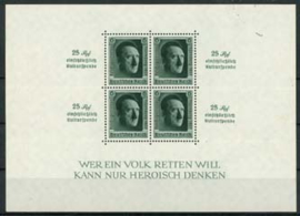 Duitse Rijk, michel blok 11, xx
