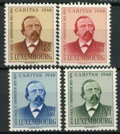 Luxemburg, michel 435/38, xx
