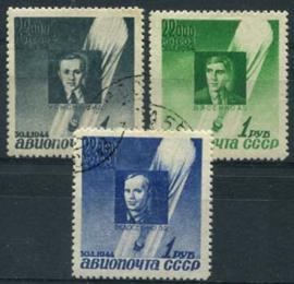 Sovjet Unie, michel 892/94, o