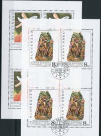 Slowakije, michel kb 243/44, o