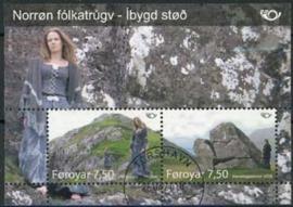 Faroer, michel blok 22, o