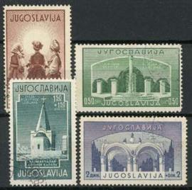 Joegoslavie, michel 433/36, o