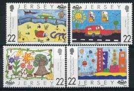 Jersey , michel 924/27 , xx