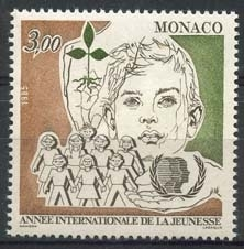 Monaco , michel 1699 , xx