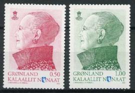 Groenland, michel 623/24, xx