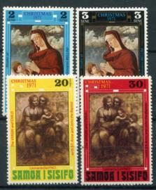Samoa, michel 245/48, xx