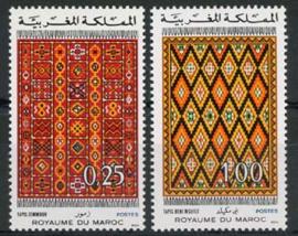 Marokko, michel 791/92, xx