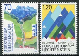 Liechtenstein, michel 1289/90, xx