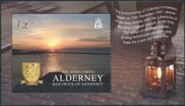 Alderney, michel blok 17, xx