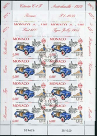 Monaco, michel kb 2528/30, o