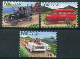 Faroer, michel 733/35, xx