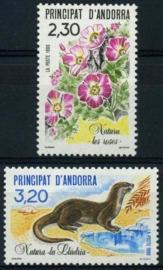 Andorra Fr., michel 414/15, xx