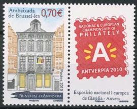 Andorra Fr., michel 713zf, xx