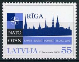 Letland, michel 686, xx