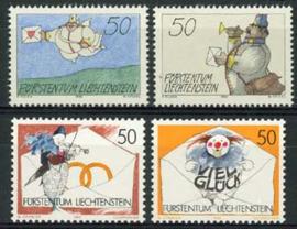 Liechtenstein, michel 1041/44, xx