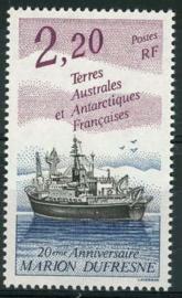 Antarctica Fr., michel 301, xx