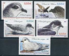 Antarctica Fr., michel 682/86, xx