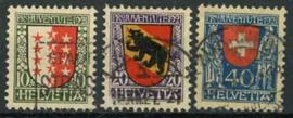 Zwitserland, michel 172/74, o