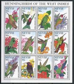 Nevis, michel kb 876/87, xx