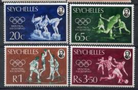 Seychelles, michel 358/61, xx