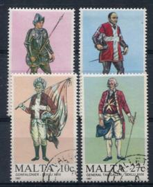 Malta, michel 768/71, o