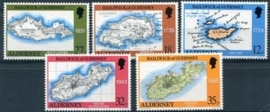Alderney, michel 37/41, xx