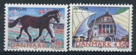 Denemarken, michel 1188/89, xx