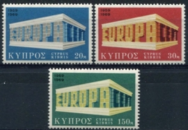 Cyprus, michel 319/21, xx