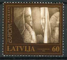 Letland, michel 590, xx