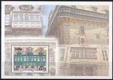 Malta , michel blok 37 , xx