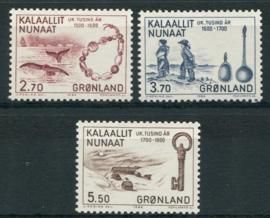 Groenland, michel 148/50, xx