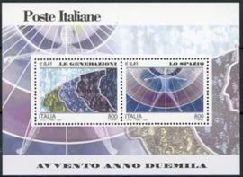 Italie, michel blok 24, xx