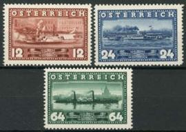 Oostenrijk, michel 639/41, xx