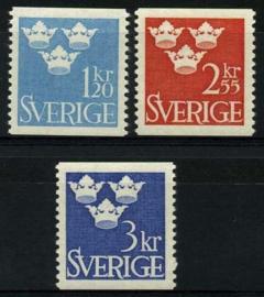 Zweden, michel 525/27,xx