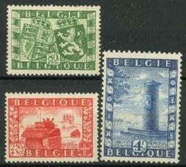 Belgie, obp 823/25, xx