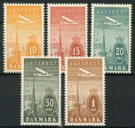Denemarken, michel 217/21, xx