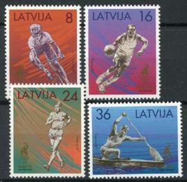 Letland, michel 427/30, xx