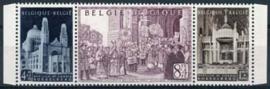 Belgie, obp 876/78 A, xx